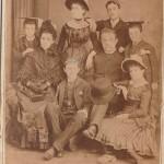 G W Risien, Emily & family c1885
